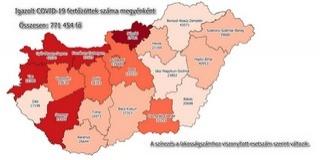 Száz alá esett Baranyában a napi új fertőzözöttek száma