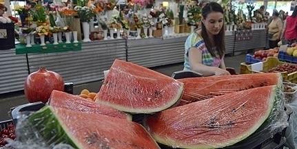 Még egy hónapig nem lesz magyar dinnye a piacokon