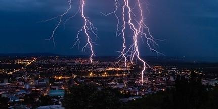 Záporoztak a bejelentések Baranyából a vihar miatt