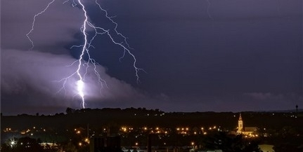 Orkán erejű széllökést is regisztráltak vasárnap