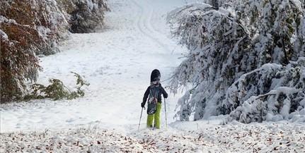 Van, ahova már megérkezett a tél Magyarországon
