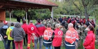 A Dombay-tónál gyakorlatoztak hétvégén a Baranya megyei mentőszervezetek