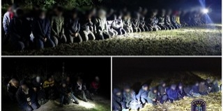 Jönnek és jönnek: Bács-Kiskun megyében fogtak migránscsoportokat
