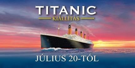 Újra Magyarországra érkezik a Titanic-kiállítás