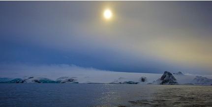 Brit kutatók 91 vulkánt fedeztek fel a jégtakaró alatt